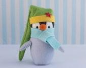 PDF Pattern - 'Meep' - Felt Penguin Softie  - Instant Digital Download - Plush Children's Toy - Christmas Gift Idea