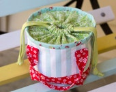PDF Pattern - 'Little Lunch' - Fabric Lunch Bag  - Instant Digital Download - Fabric Children's bag