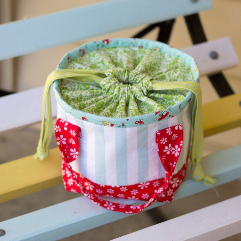 PDF Pattern  'Little Lunch'  Fabric Lunch Bag   image 0
