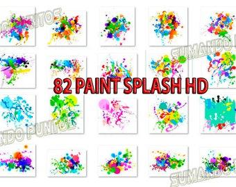 82 Paint Splatter Png HD