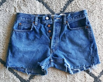 High Waisted Shorts / Vintage Shorts / Levi's High Waisted Shorts / Vintage Levi's / High Waisted Cutoffs