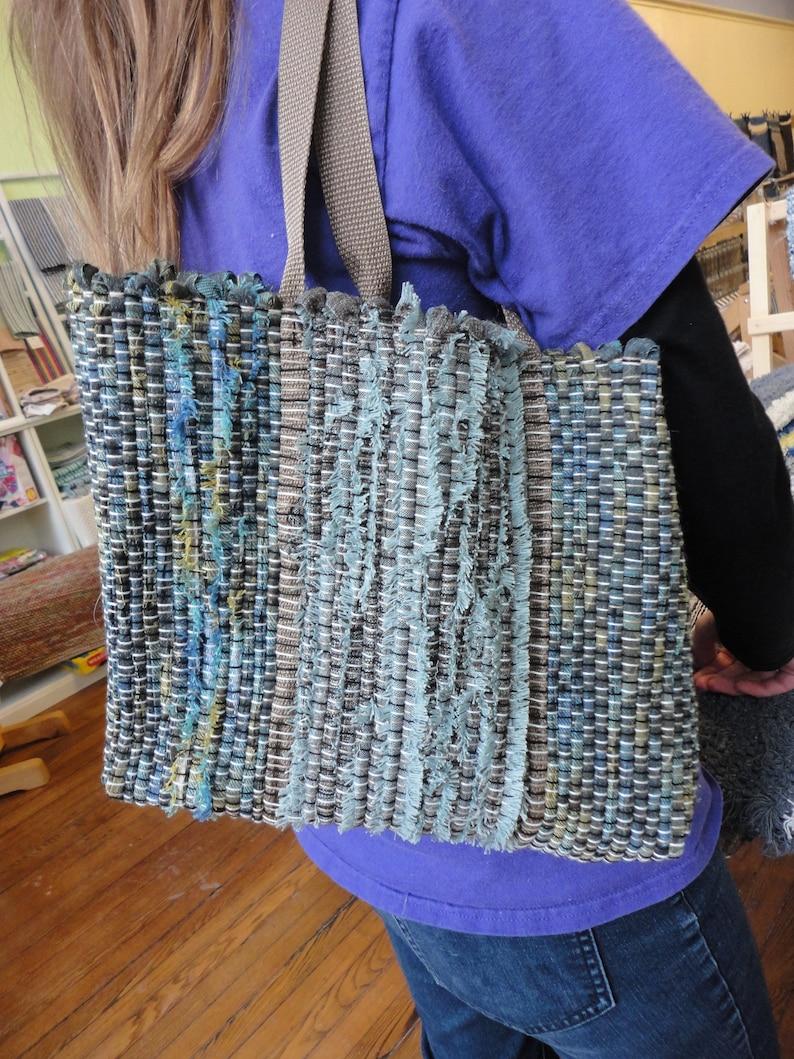 purse Handwoven Market Bag handwoven by Ability Weavers MT19