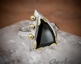 Black Onyx Neo Classic Ring