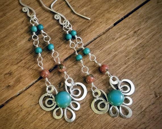 Boho Swing Earrings