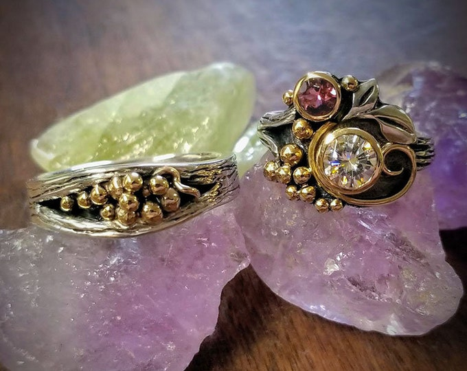 Featured listing image: Wedding set / Engagement Ring, Custom or Redesign Starting at: