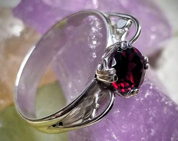 Pyrope Garnet Ring