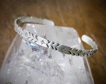 Twinkle Hearts Stacking Cuff Bracelet