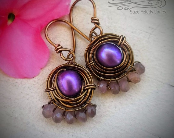 Nested Pearls Earrings