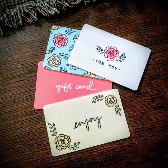 Gift Cards For Jewelry Items