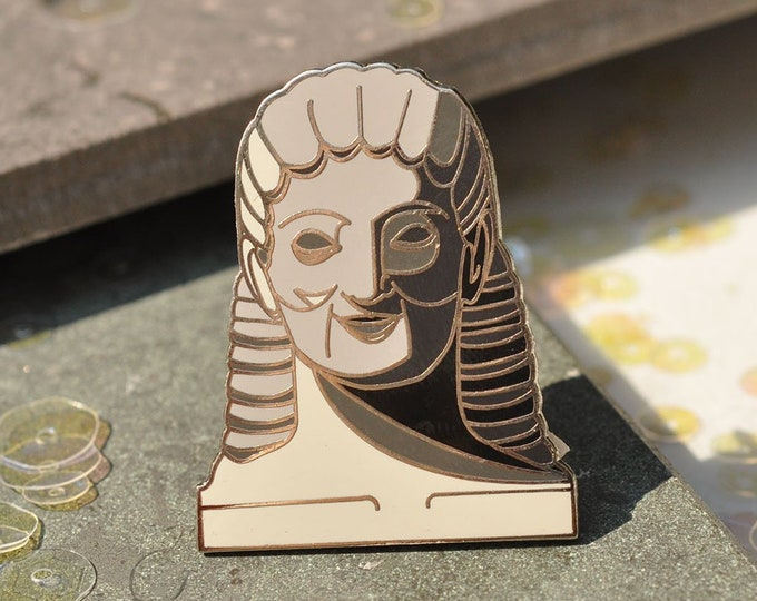 Kouros Boy- Hard Enamel Pin