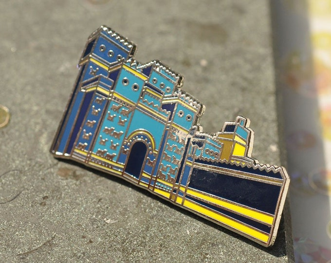 Ishtar's Gate Hard Enamel Pin