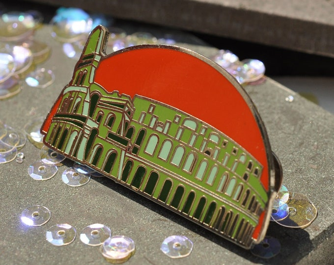 Coliseum Hard Enamel Pin