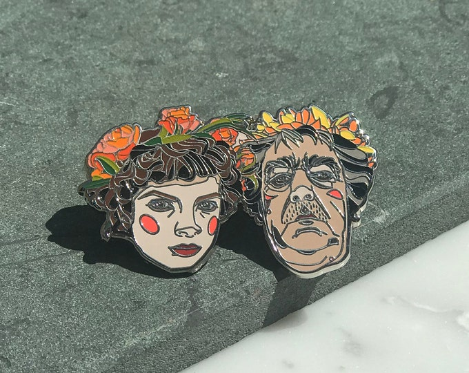 Fellini Satyricon Hard Enamel Pin