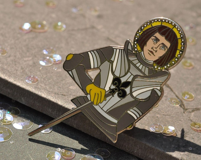 Joan of Arc Hard Enamel Pin