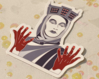 Lady Macbeth Sticker (Die Cut)