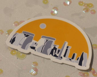 Stonehenge Sticker (Die Cut)
