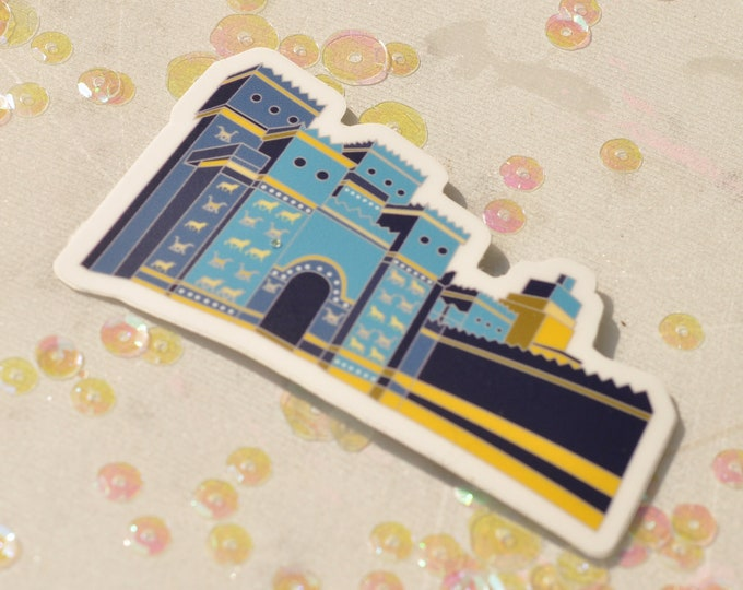 Ishtar Gate Sticker (Die Cut)