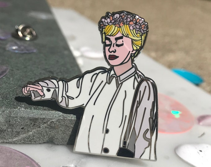 Nights of Cabiria- Giulietta Masina Hard Enamel Pin