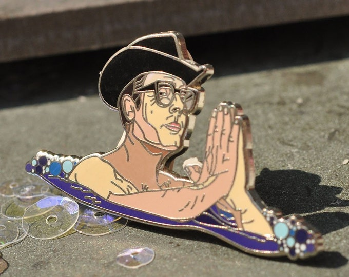 8 1/2 Marcello Mastroianni Guido Hard Enamel Pin