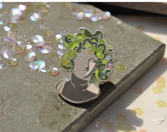 Medusa Hard Enamel Pin
