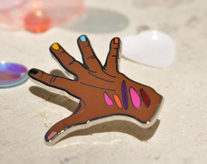 Sephora Hand Hard Enamel Pin