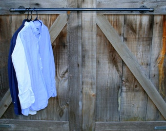 Industrial Style Garment Hanger, Clothing Rack, Clothes Hanger, Retail Display
