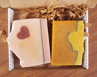 Soap of the Month Club - Mother's Day Gift, Soap Subscription Box, Free Shipping, Organic Soaps, All Natural Handmade Soaps, Artisan Soap