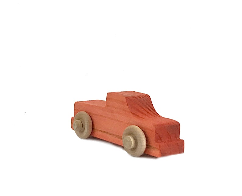 Includes: 1 yellow 1 red 3 Pack and 1 blue Wooden Truck Push Toys -