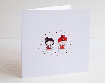 Indian Wedding Card Etsy