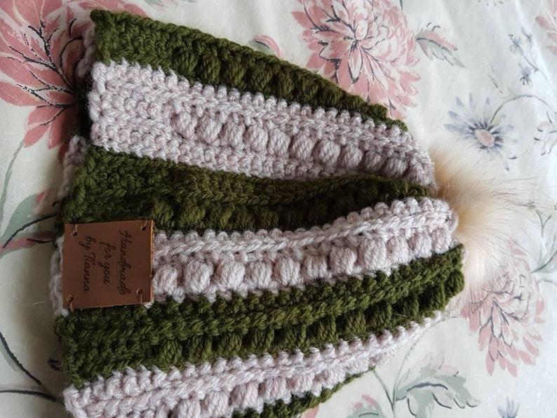 Crochet Malia Beanie hat  6d7882d0343