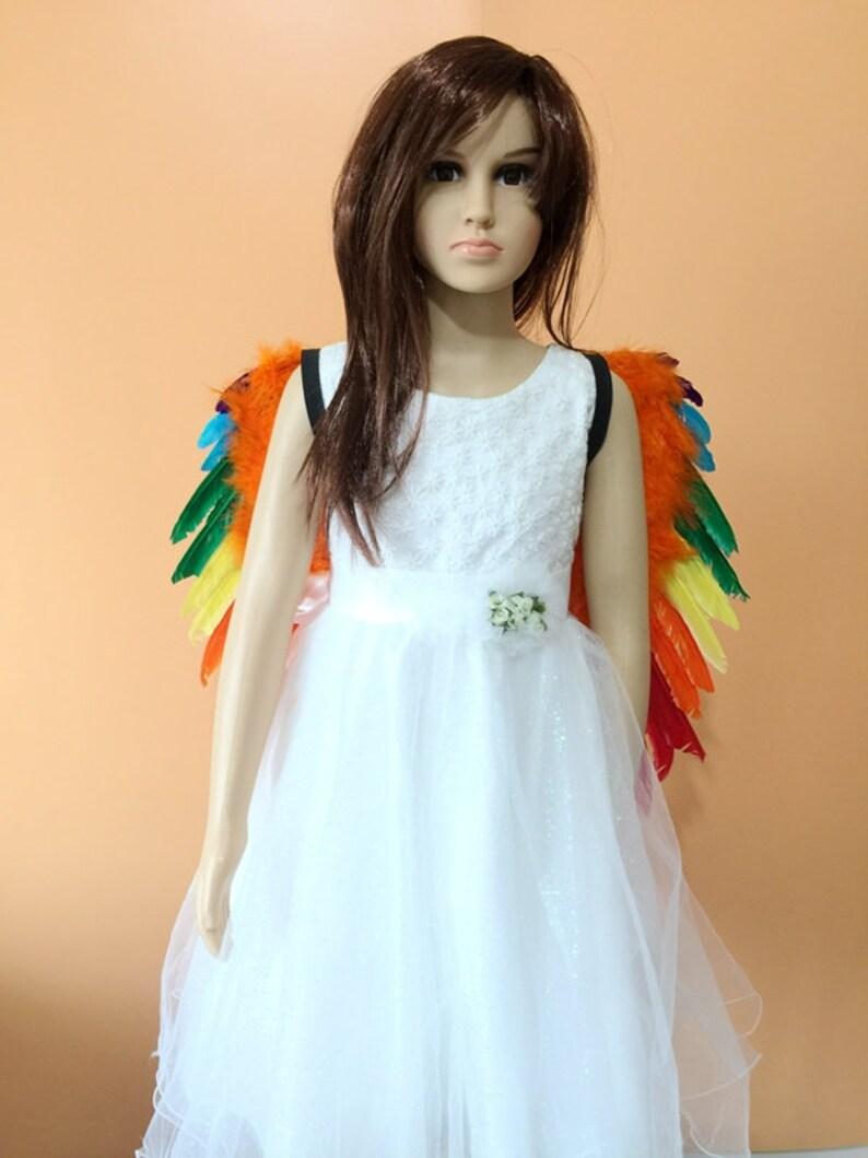 Kids rainbow agnel wing #WIN2019001