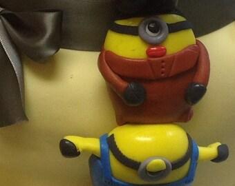 Edible Minion Figurines