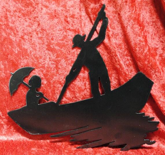 Gondola Boat Ride, Romantic Boat Ride, Italy Gondola, Metal Gondola Wall Art Decor, Venice Art, Italin Art, Venice Italy, Italian Home Decor