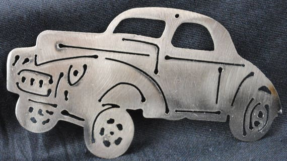 1941 Willy's Gasser, 1941 Memorabilia, Auto Memorabilia Art, Toolbox Magnet, Refrigerator Magnet, Wall Hanging, Gift for Him, Automotive Art