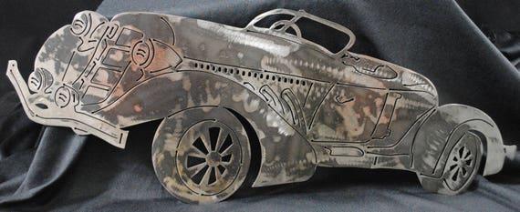 1935 Auburn Cord Boat Tail Speedster, Metal Auburn Cord Car, 1935 Memorabilia, Auto Memorabilia, Gift for Him, Gift for Her, Automotive Art