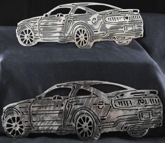 2011 Ford Mustang, California Special, Ford Mustang, Mustang Metal Art, Wall Art, Home Decor, Car Wall Art, Man Cave Decor, Automotive Art