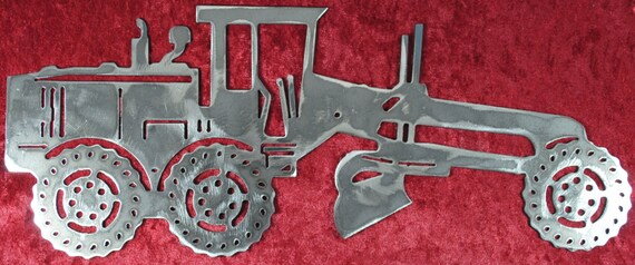 Road Grader, Heavy Equipment, Grader, Blade, Maintainer, Motor Grader, Caterpillar Inspired, Heavy Equipment Operator, Gift for Him