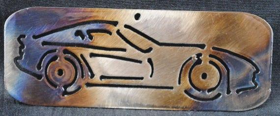 2000 Dodge Viper cut in, Wall Hanging, Magnet, Sports Car, Toolbox Magnet, Refrigerator Magnet, Auto Memorabilia, Wall Art, Automotive Art