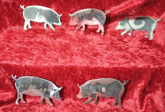 Pig Magnet, Magnet, Pig, Farm, Farmer, Swine