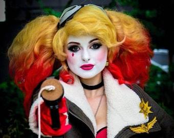 c0844728611 Harley Quinn Inspired Wig  Bombshell or Custom