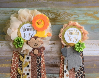 Safari Baby Shower Etsy