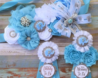 8d4f3c570 Blue Elephant Baby Shower