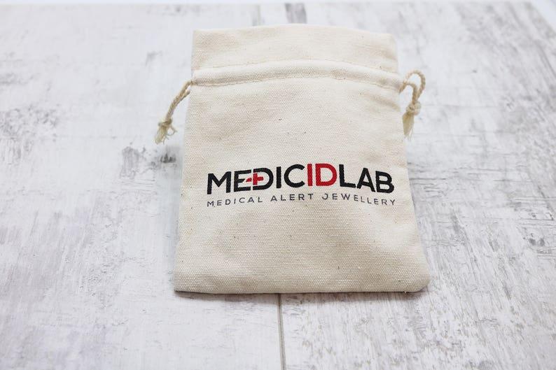 Emergency Bracelet Medical ID Bracelet Men/'s Medical Alert Bracelet