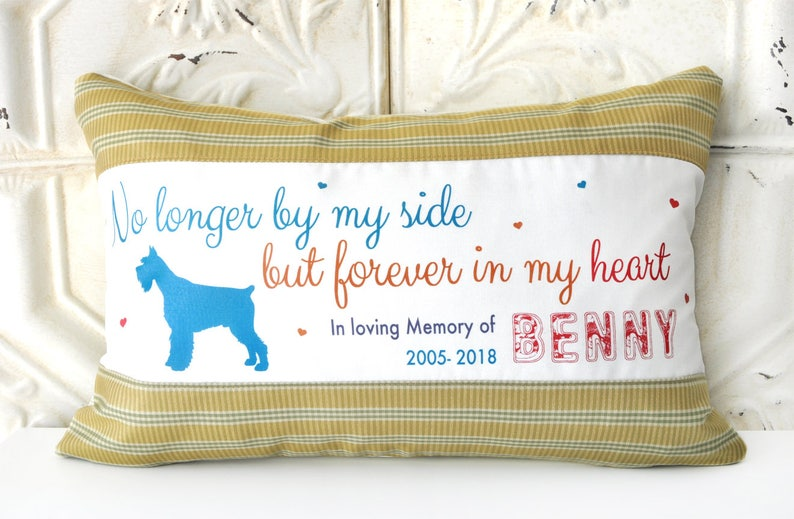 46a51975f822 Pet Loss Pillow Dog Loss Dog Memorial Pet Memorial Pet | Etsy
