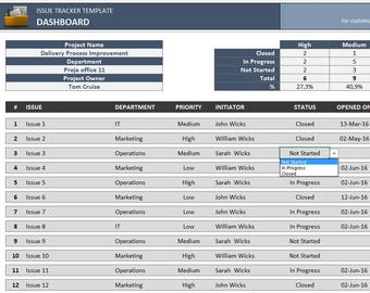 purchase order generator and tracker small business excel etsy