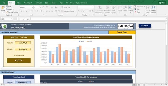 excel templates for business sales tracking business etsy