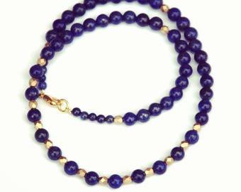 Lapis lazuli necklace, Lapis necklace, Egyptian jewelry, Melbourne made, Egyptian revival, Egyptian necklace, gemstone necklace, gift
