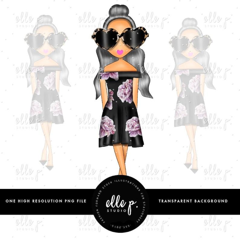 9aaa278a38 Clipartów dziewczynka ilustracja lalka lalka moda na dziecko