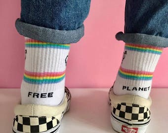 Planeta libre, Calcetines de arco iris