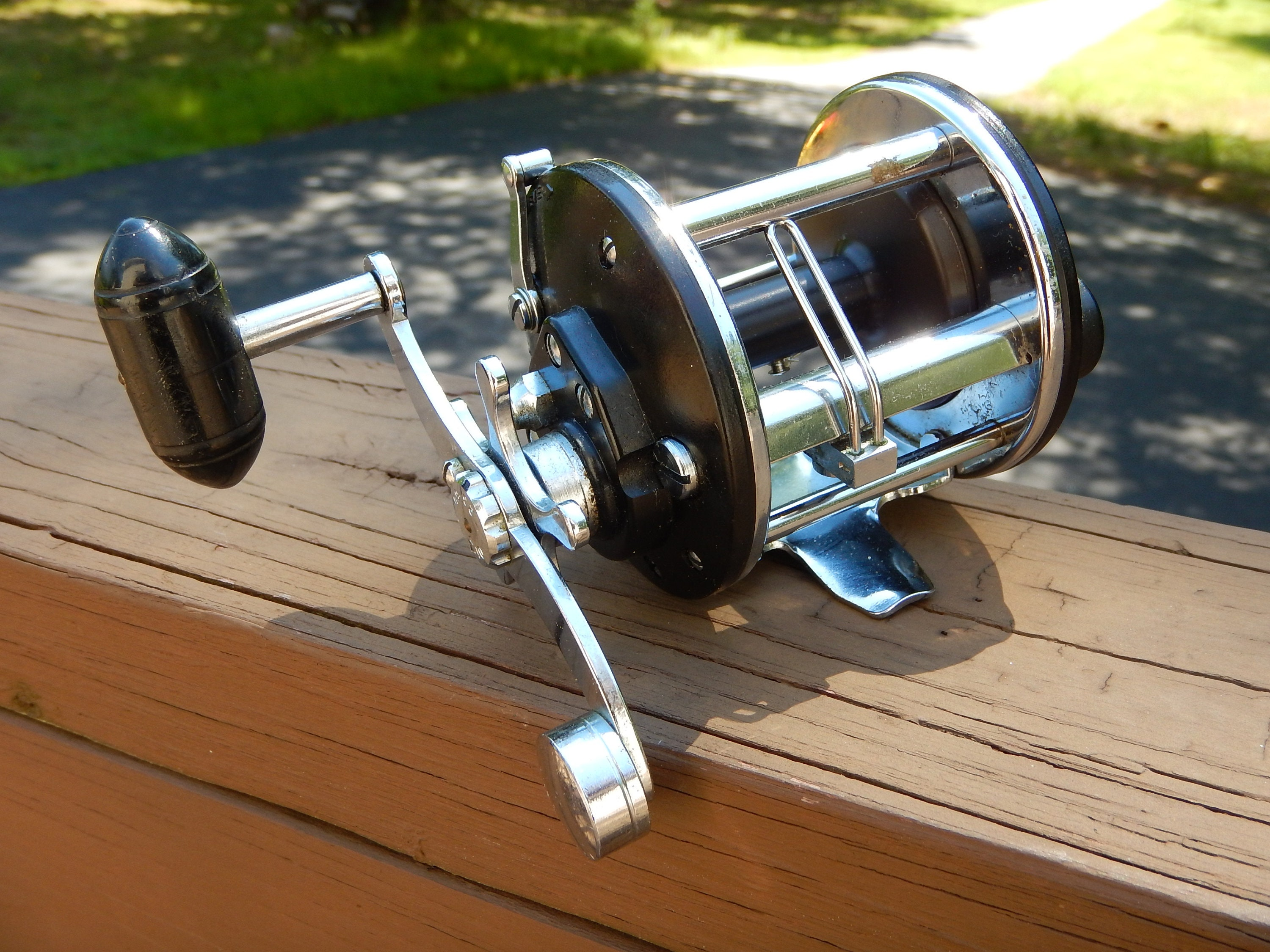 Penn 9 Level Wind Fishing ReelEXCELLENT Condition Fully Operational BEAUTIFUL Reel Pen9